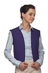 Style 740NP High Quality No Pocket Unisex Uniform Vest