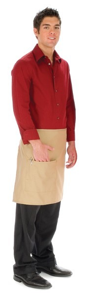 Style 111 Professional One Pocket Half Bistro Apron