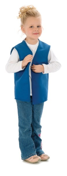 Style 750 High Quality No Pocket Kids Uniform Vest Aprons